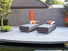 round outdoor daybed